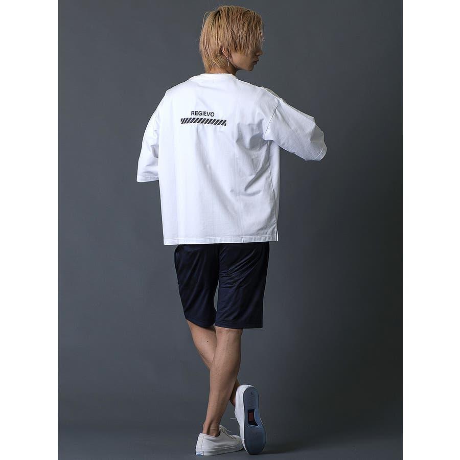 ブラシプリントビッグTシャツ 10