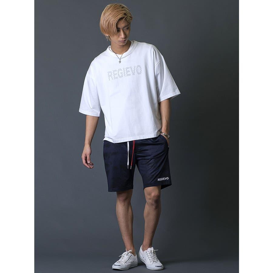ブラシプリントビッグTシャツ 4