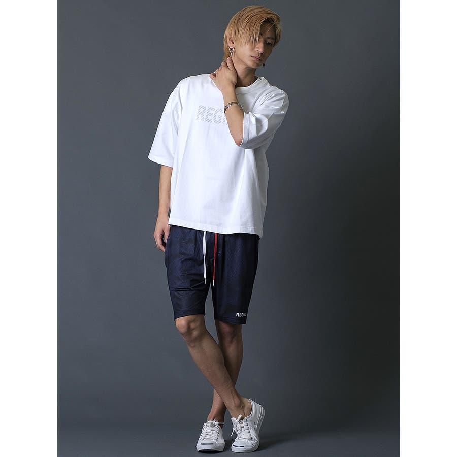 ブラシプリントビッグTシャツ 5