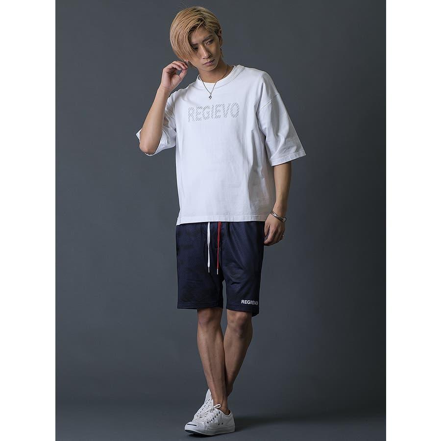 ブラシプリントビッグTシャツ 6