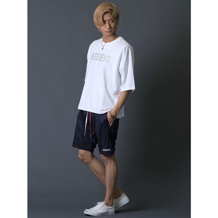 ブラシプリントビッグTシャツ 7