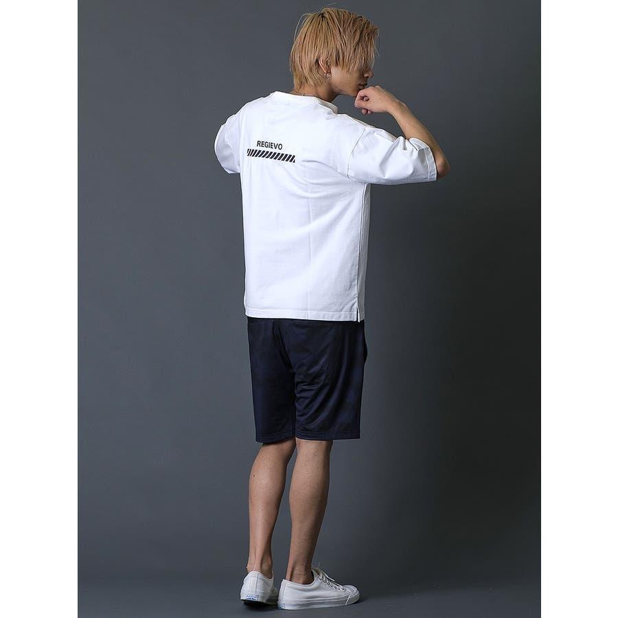 ブラシプリントビッグTシャツ 8