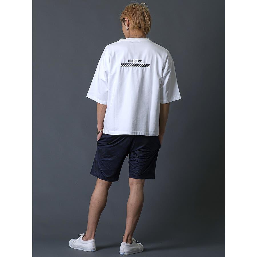 ブラシプリントビッグTシャツ 9