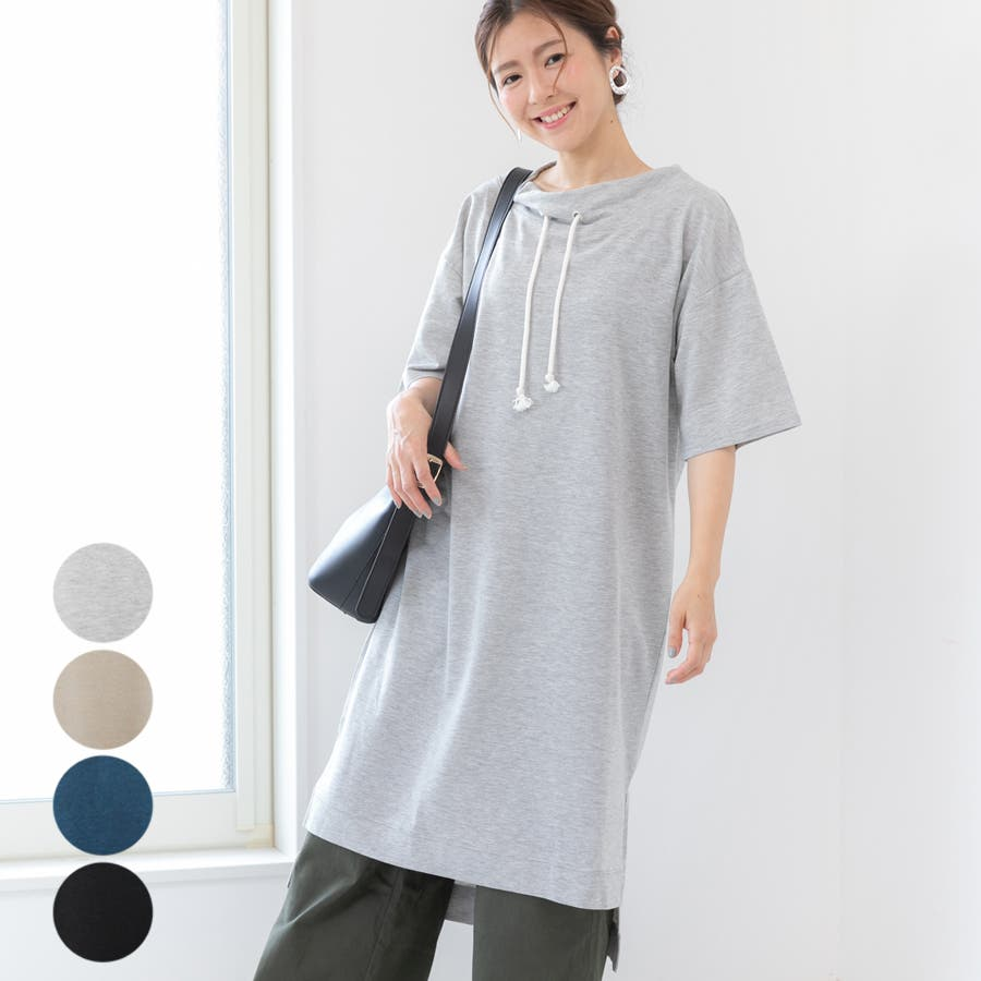 レディース ファッション 大きいサイズ 30代 40代 春 夏 ワンピース ロング 半袖 ゆったり カジュアル オーバー
