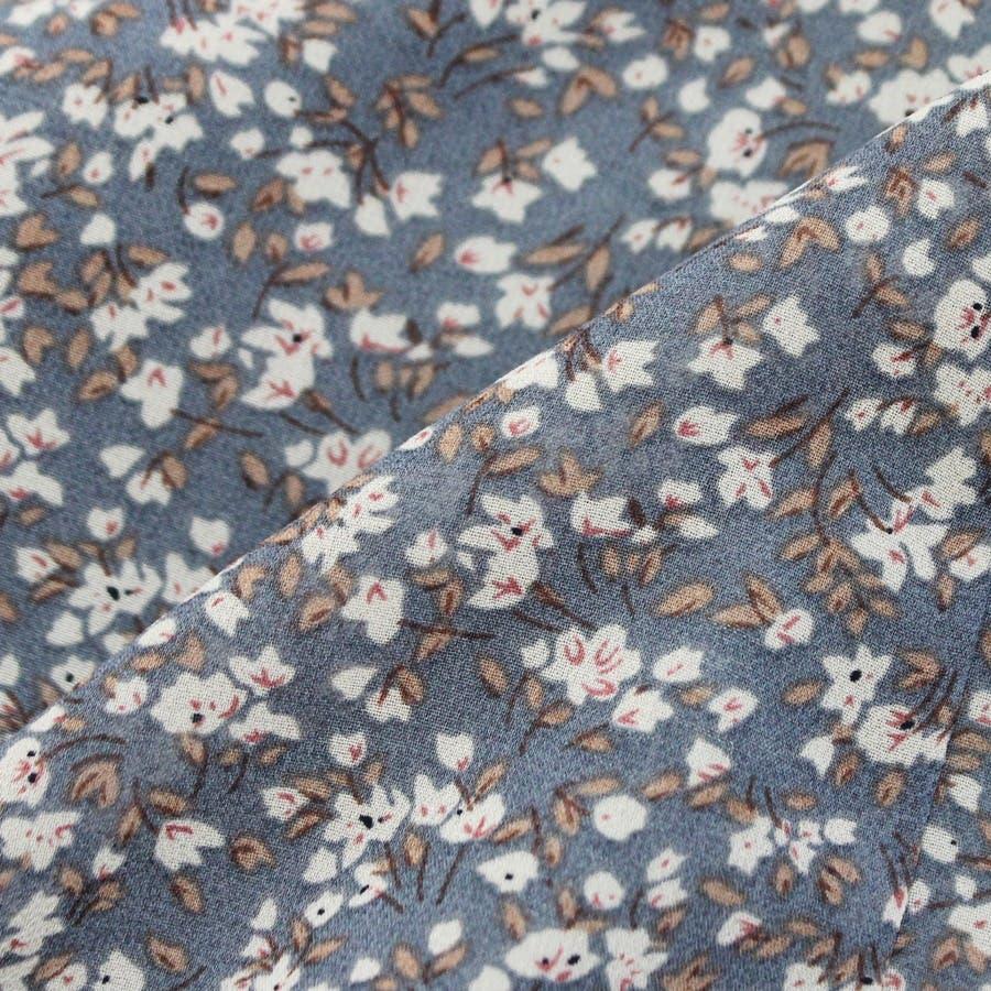 スカート ロングスカート マキシ レディース ファッション 花柄 小花柄 30代 20代 体型カバー マーメイド ウエストゴム裏地付き プチプラ 10