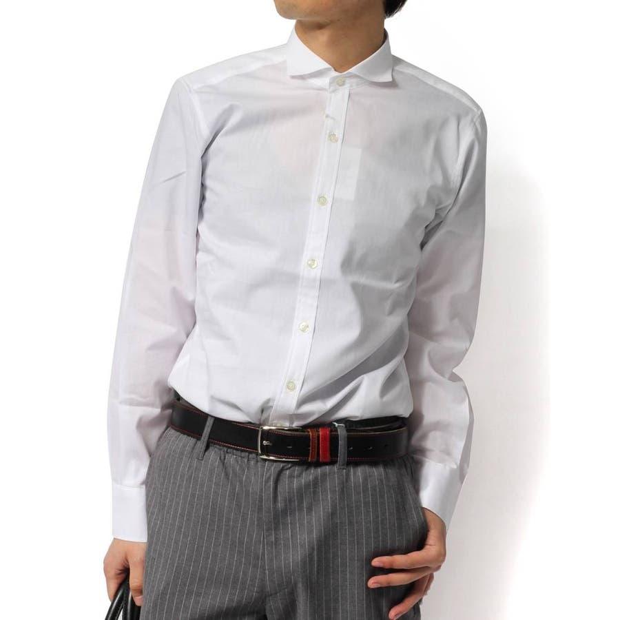 どんな服にも合わせやすいので重宝します メンズファッション通販シャツ メンズ 長袖シャツ 国産 日本製 ホリゾンタルカラーシャツ メンズ 長袖シャツ 国産 日本製 ホリゾンタルカラーシャツ国産ホリゾンタルカラーシャツ ワイドカラーシャツ 軍用