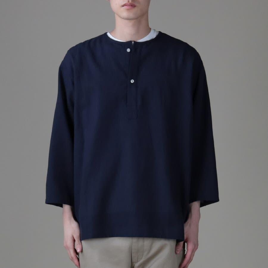 スリーピング7分袖シャツ メンズ,Right-on,ライトオン,バックナンバー,BACK NUMBER 3