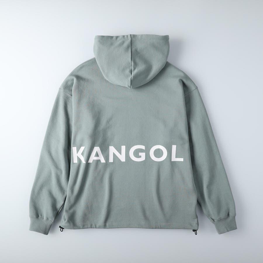 バックプリントパーカー,Right-on,ライトオン,カンゴール,KANGOL 2