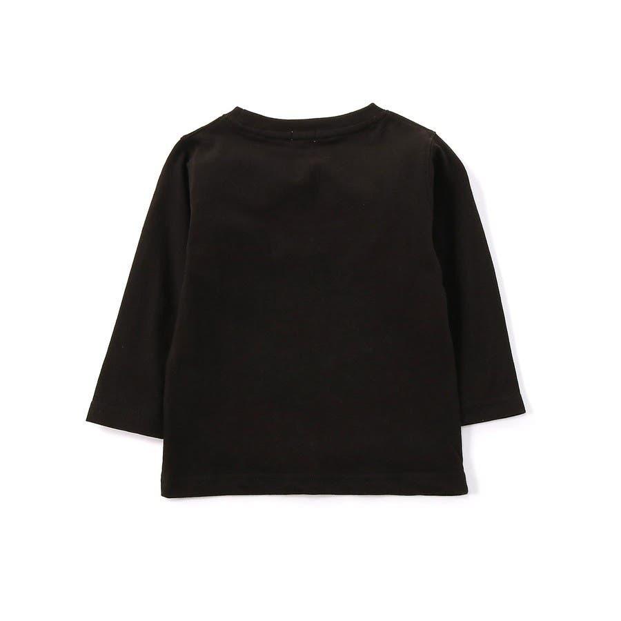 スター&ロゴ8分袖Tシャツ キッズ Right-on,ライトオン,7272-2396-49,CONVERSE,コンバース, 2