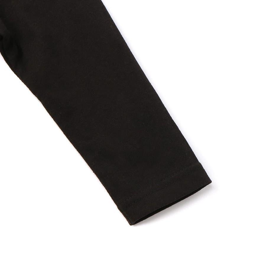 スター&ロゴ8分袖Tシャツ キッズ Right-on,ライトオン,7272-2396-49,CONVERSE,コンバース, 4