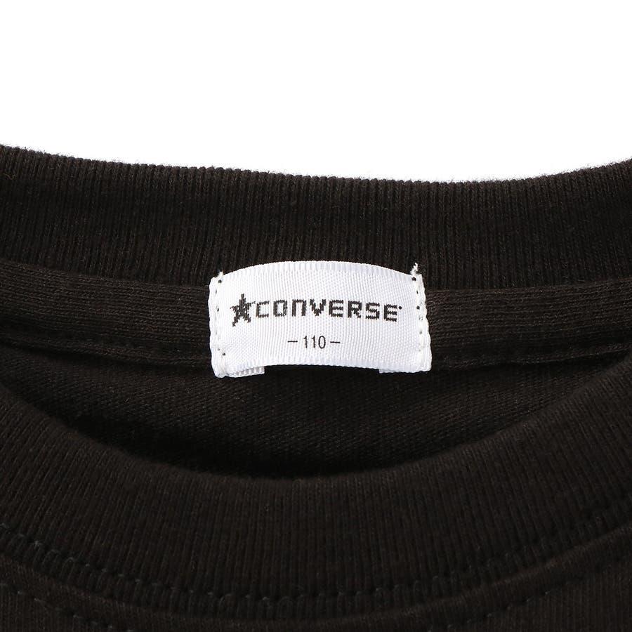 スター&ロゴ8分袖Tシャツ キッズ Right-on,ライトオン,7272-2396-49,CONVERSE,コンバース, 8