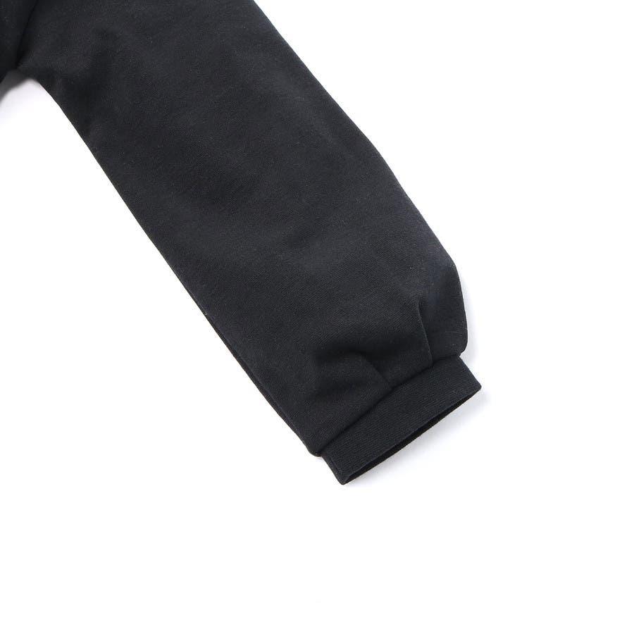 モックネック刺繍トレーナー キッズ right on ライトオン mp39321055g 1