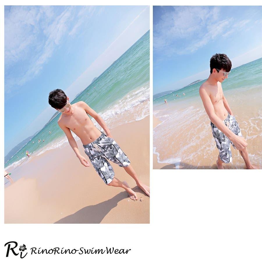 カップルでお揃い水着セット☆(レディース、メンズ、お揃い セット ビーチパンツ、トランクス、ハーフパンツ、カジュアル/短パン/大きいサイズあり、みずぎ、mizugi、ミズギ) 5