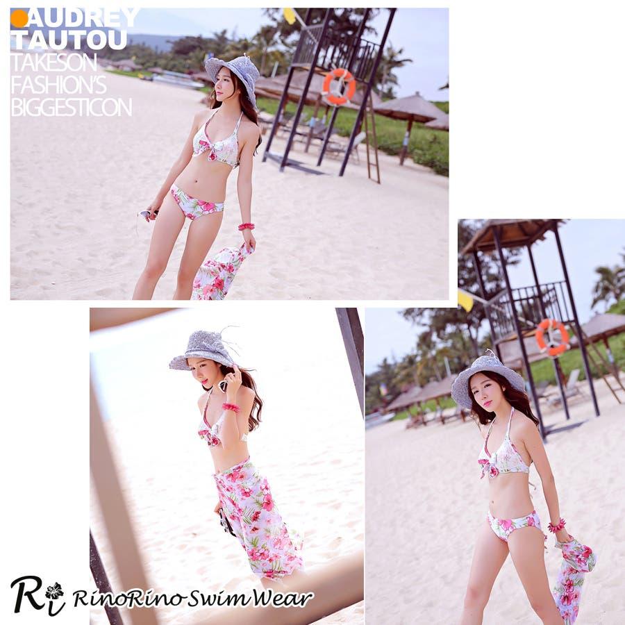 カップルでお揃い水着セット☆(レディース、メンズ、お揃い セット ビーチパンツ、トランクス、ハーフパンツ、カジュアル/短パン/大きいサイズあり、みずぎ、mizugi、ミズギ) 2