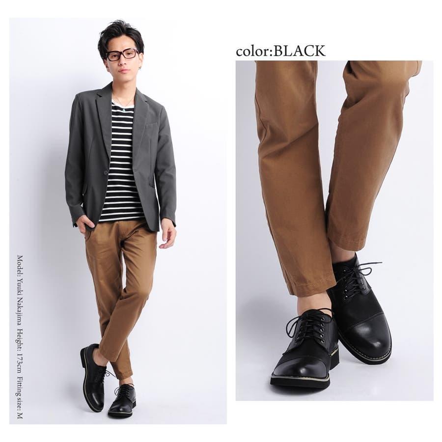 ストレートチップ オックスフォード シューズ メンズ 合皮 レザー 607917ローファー 革靴 黒 革 人気 冬 靴