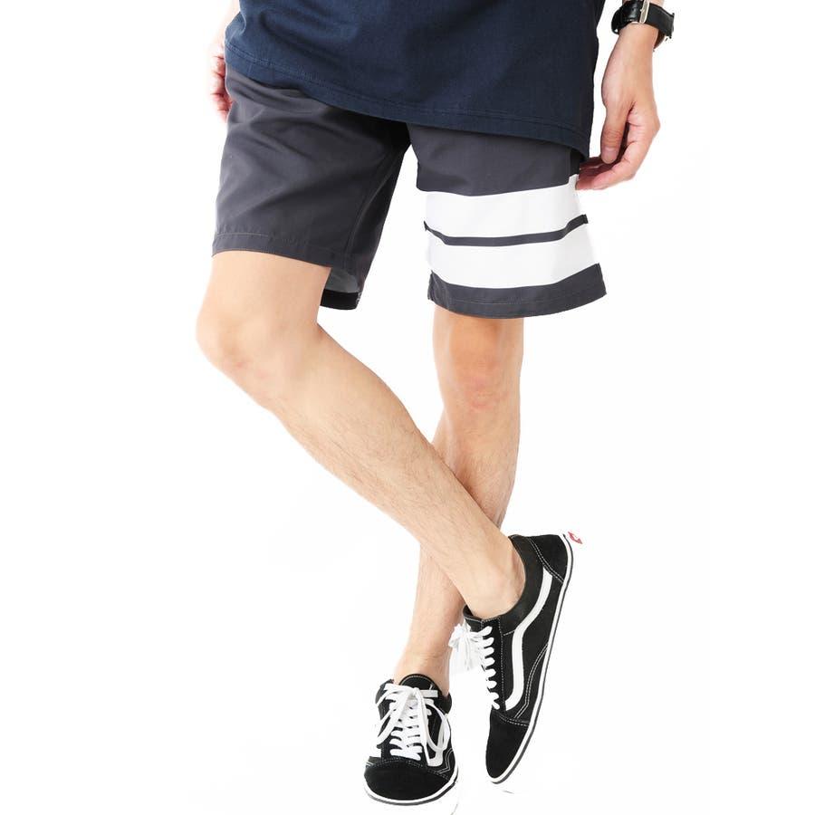 総柄プリントサーフパンツ メンズ 総柄 サーフ ショートパンツ メンズ ショーツ ハーフ メンズ 半ズボン 水陸両用 水着ビーチパンツ 男性 ROCK STE ロクステ 28