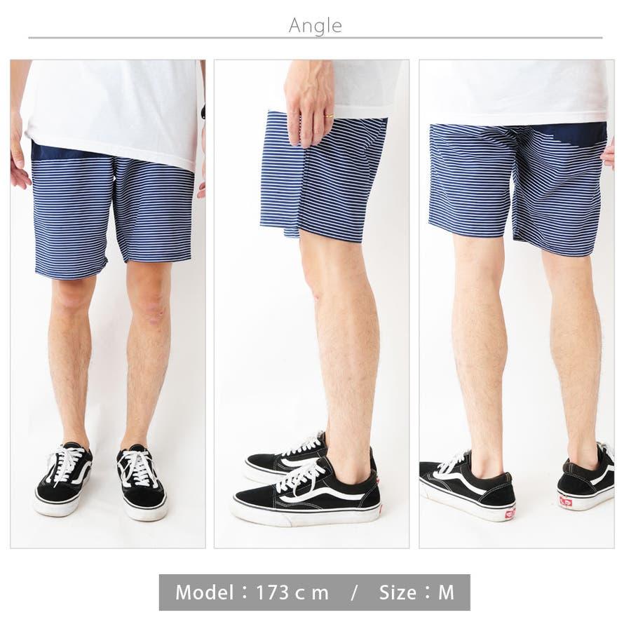 総柄プリントサーフパンツ メンズ 総柄 サーフ ショートパンツ メンズ ショーツ ハーフ メンズ 半ズボン 水陸両用 水着ビーチパンツ 男性 ROCK STE ロクステ 3