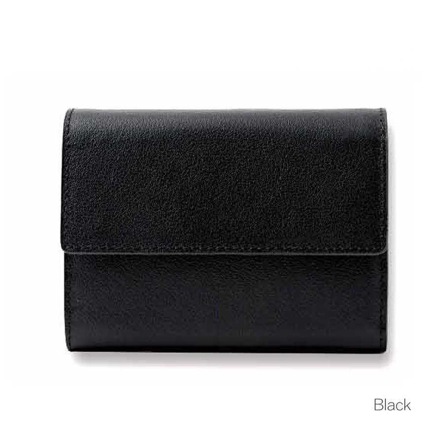 牛革三つ折りミニ財布 メンズ 高級本革使用 大容量 多機能 ビジネス 本革 おしゃれ ROCK STE ロクステ 3