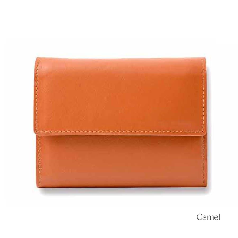 牛革三つ折りミニ財布 メンズ 高級本革使用 大容量 多機能 ビジネス 本革 おしゃれ ROCK STE ロクステ 4