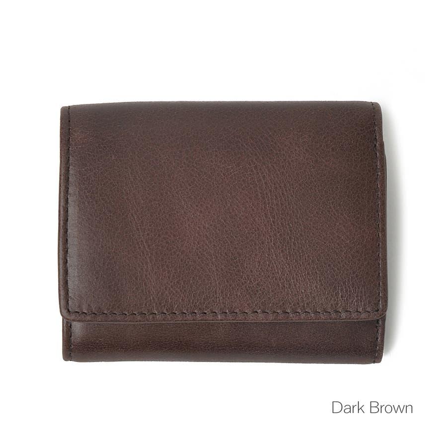 クラシックレザー三つ折りミニ財布 メンズ 高級合皮使用 大容量 多機能 PUレザー トートバッグ ビジネスバッグ 合皮 おしゃれROCK STE ロクステ 5