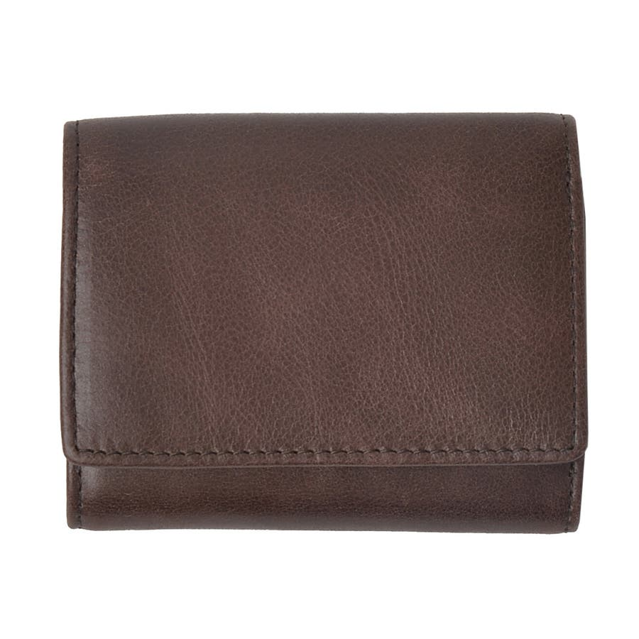クラシックレザー三つ折りミニ財布 メンズ 高級合皮使用 大容量 多機能 PUレザー トートバッグ ビジネスバッグ 合皮 おしゃれROCK STE ロクステ 40