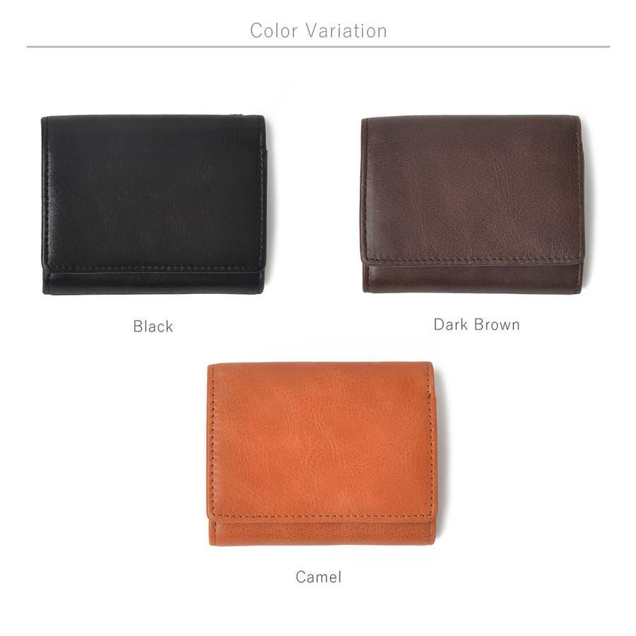 クラシックレザー三つ折りミニ財布 メンズ 高級合皮使用 大容量 多機能 PUレザー トートバッグ ビジネスバッグ 合皮 おしゃれROCK STE ロクステ 6