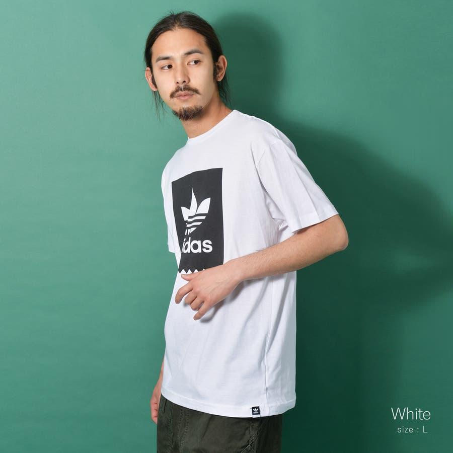 adidas アディダス オリジナルストレフォイルロゴ半袖Tシャツ メンズ adidas アディダス 半袖 Tシャツ ユニセックスブラック ゆったり メンズ レディース ROCK STE ロクステ 20