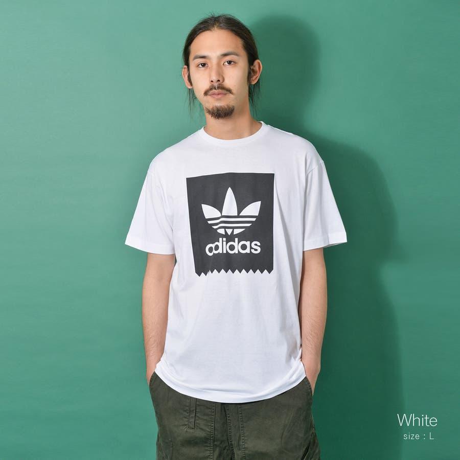 adidas アディダス オリジナルストレフォイルロゴ半袖Tシャツ メンズ adidas アディダス 半袖 Tシャツ ユニセックスブラック ゆったり メンズ レディース ROCK STE ロクステ 8