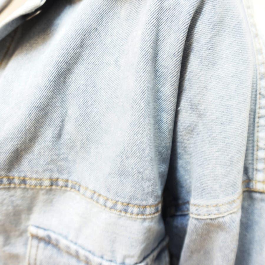 レディース デニムジャケット デニム アウター Gジャン ジャンパー 秋 秋服 羽織 長袖 カジュアル 10