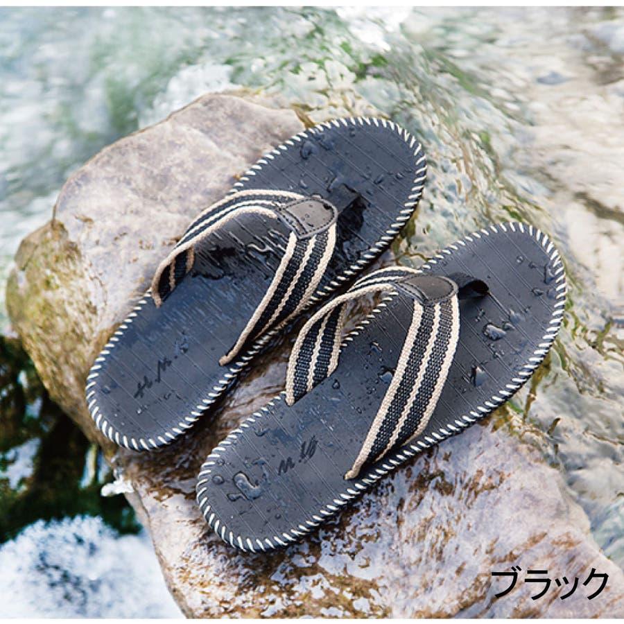 サンダル メンズ トングサンダル シューズ コンフォート アウトドア ビーチ ビーサン ビーチサンダル メンズファッション 2