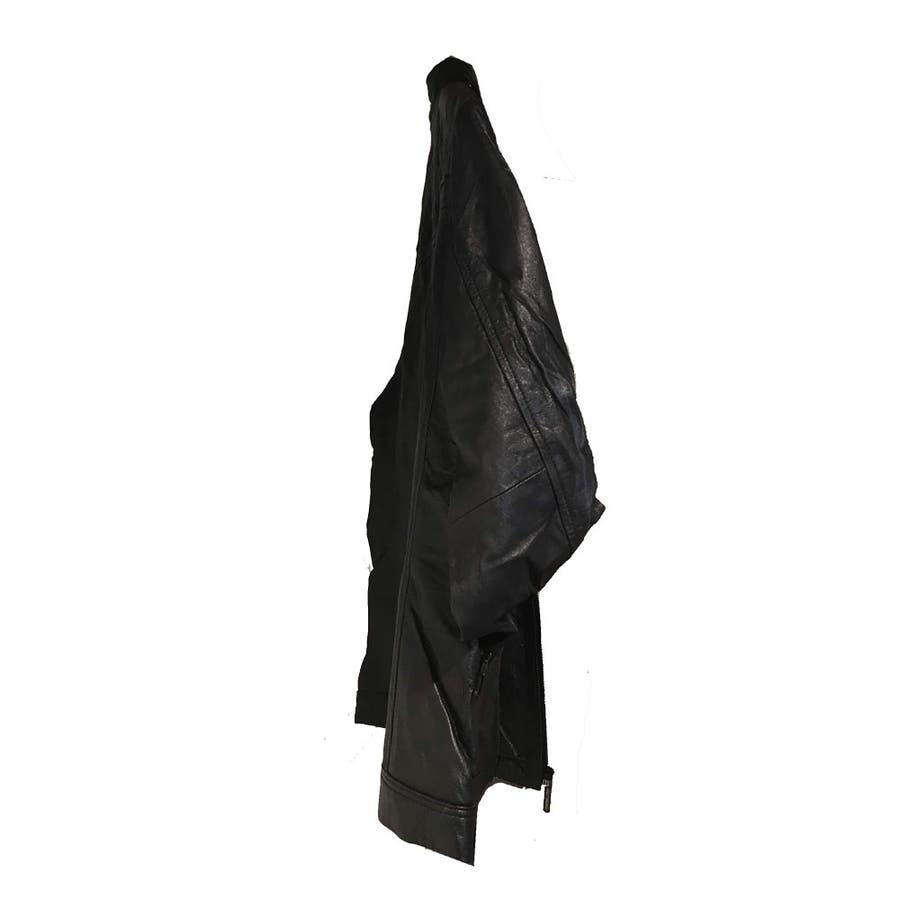 レザー ジャケット メンズ ライダース 革ジャン レザー 手袋 の 2点入り 福袋 セット ns-fkb-m04 3