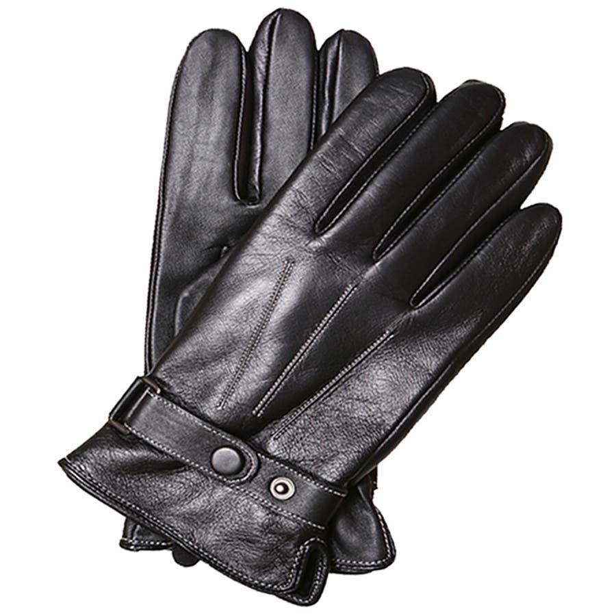 手袋 メンズ レザー 防寒 ビジネス 本革手袋 グローブ 皮 革 手袋 ブラック 黒 通勤 通学 ギフト 父の日バレンタインクリスマス プレゼント ns-k1302 108