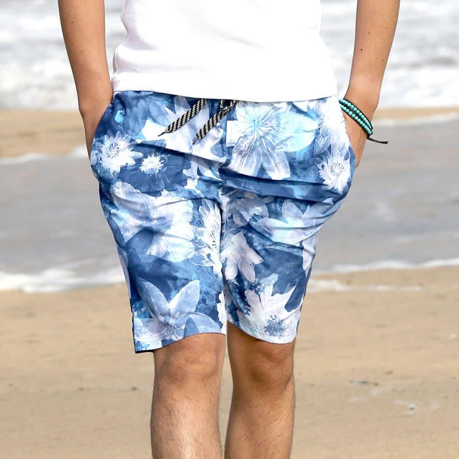 メンズ 水着 大きいサイズ 3L 4L 5L 海パン サーフパンツ 男性用 海水パンツ メッシュ インナー付きメンズ水着ロングns-2517-10 64