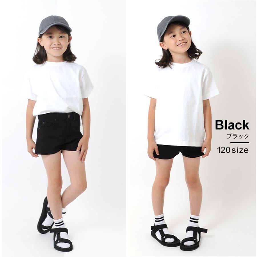 1ccf742c70ef75 GLAZOS(グラソス)】Girlsストレッチ・ショートパンツ 100-160cm[2色展開 ...