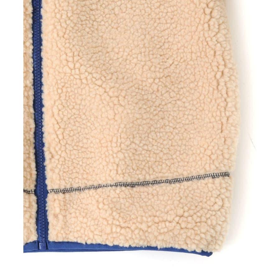 【GLAZOS】シープボアジャケット 子供服 男の子 カジュアル アメカジ キッズ ジュニア アウター トレンド アウトドア120cm130cm 140cm 150cm 160cm グラソス 秋冬 7