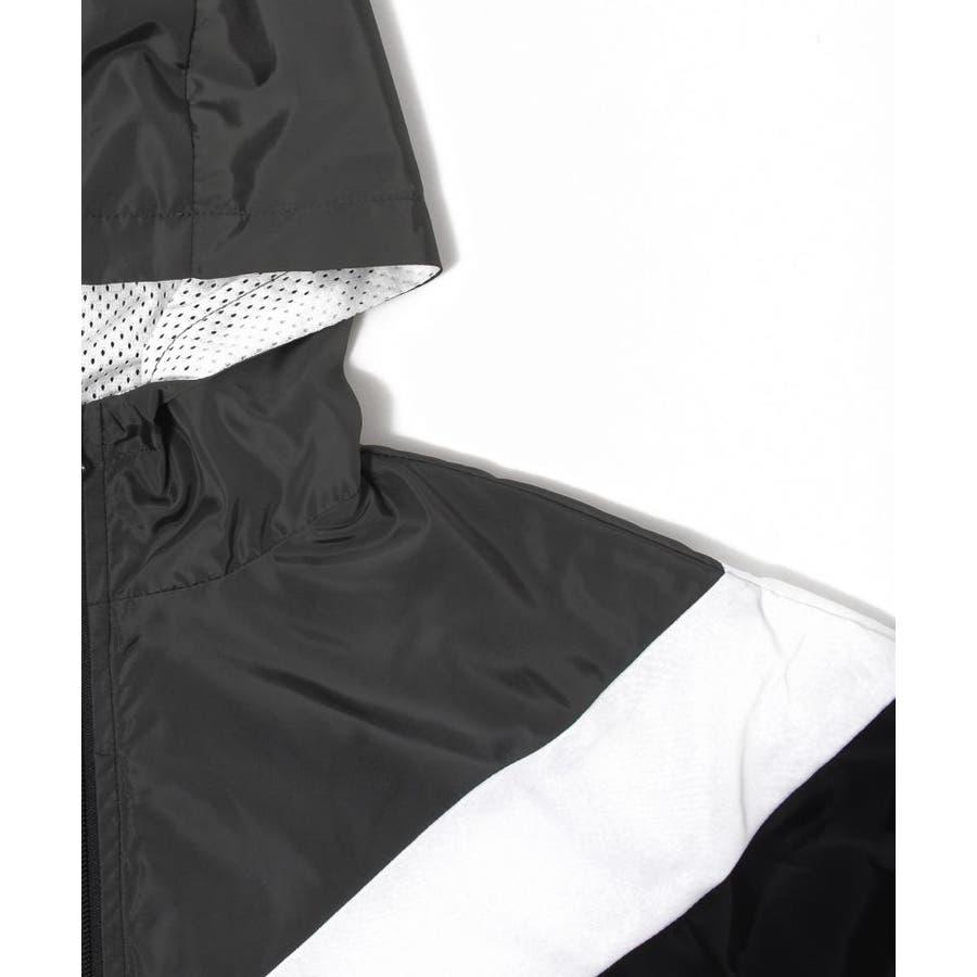 【GLAZOS】カラーブロックウインドブレーカー 子供服 男の子 カジュアル アメカジ キッズ ジュニア はおり ジャケットスポーティ120cm 130cm 140cm 150cm 160cm グラソス 秋冬 5