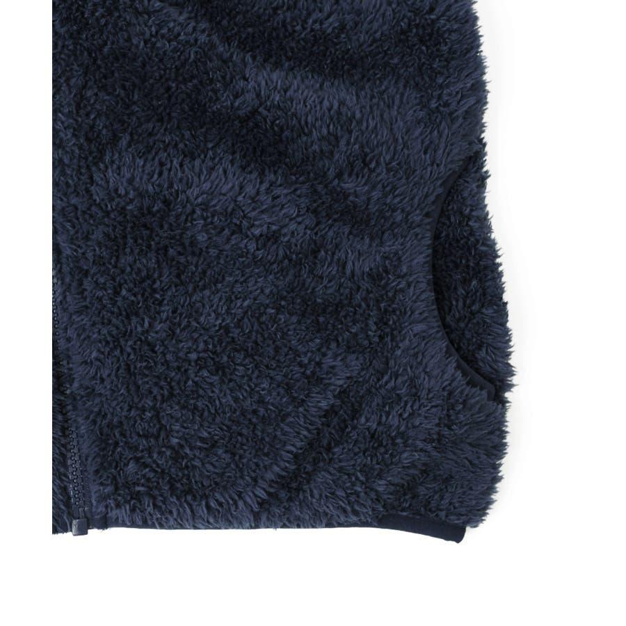 【GLAZOS】シルキーボア・ジップアップジャケット 子供服 男の子 カジュアル アメカジ キッズ ジュニア はおり フリースモコモコもこもこ 120cm 130cm 140cm 150cm 160cm グラソス 新作 秋冬 ダンス 衣装 7