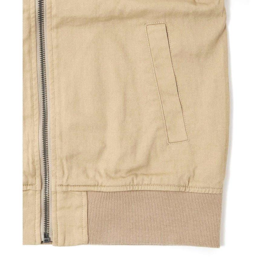 【GLAZOS】コットンツイルMA-1 子供服 男の子 カジュアル アメカジ キッズ ジュニア ブルゾン 羽織 120cm130cm140cm 150cm 160cm グラソス 春 6