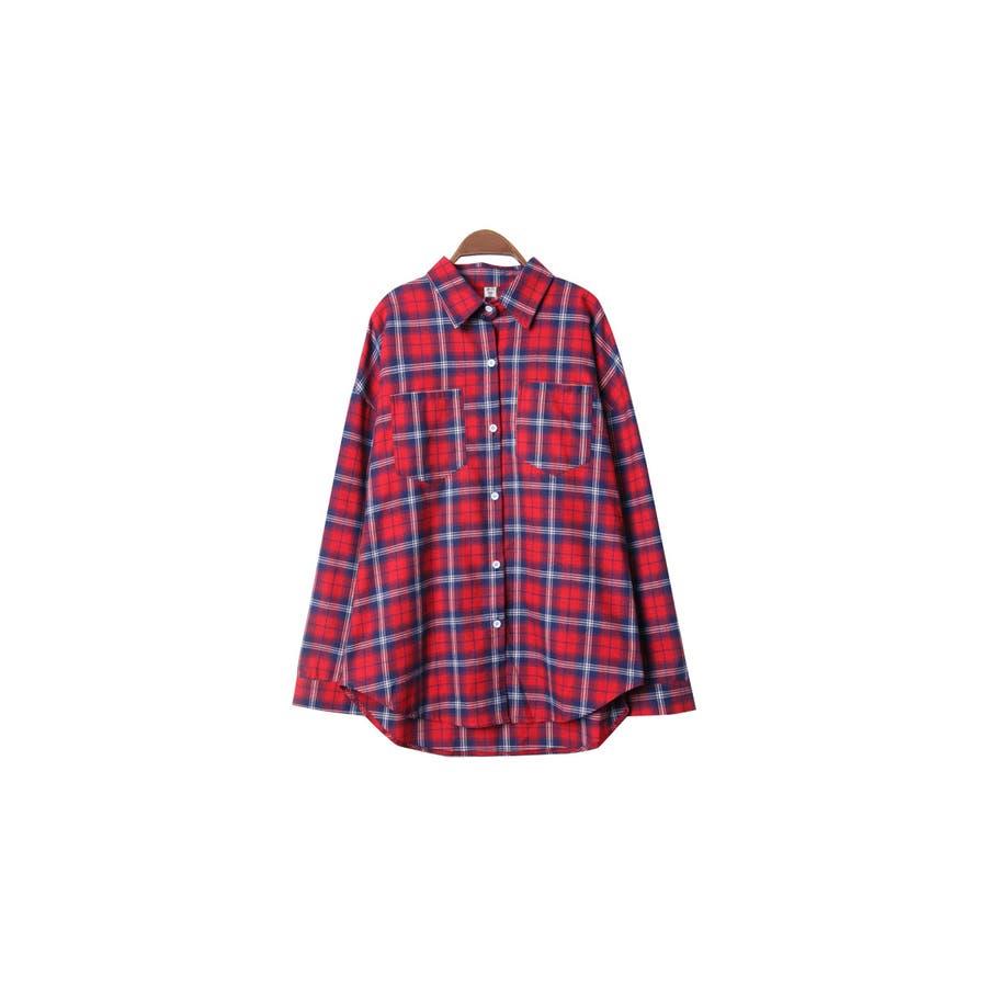 7a73047b85f0c ... 長袖チェックシャツ冬レディースコーデ. VIVID LADYのトップス/シャツ|イエロー. イエロー. VIVID LADYのトップス/シャツ|レッド.  レッド