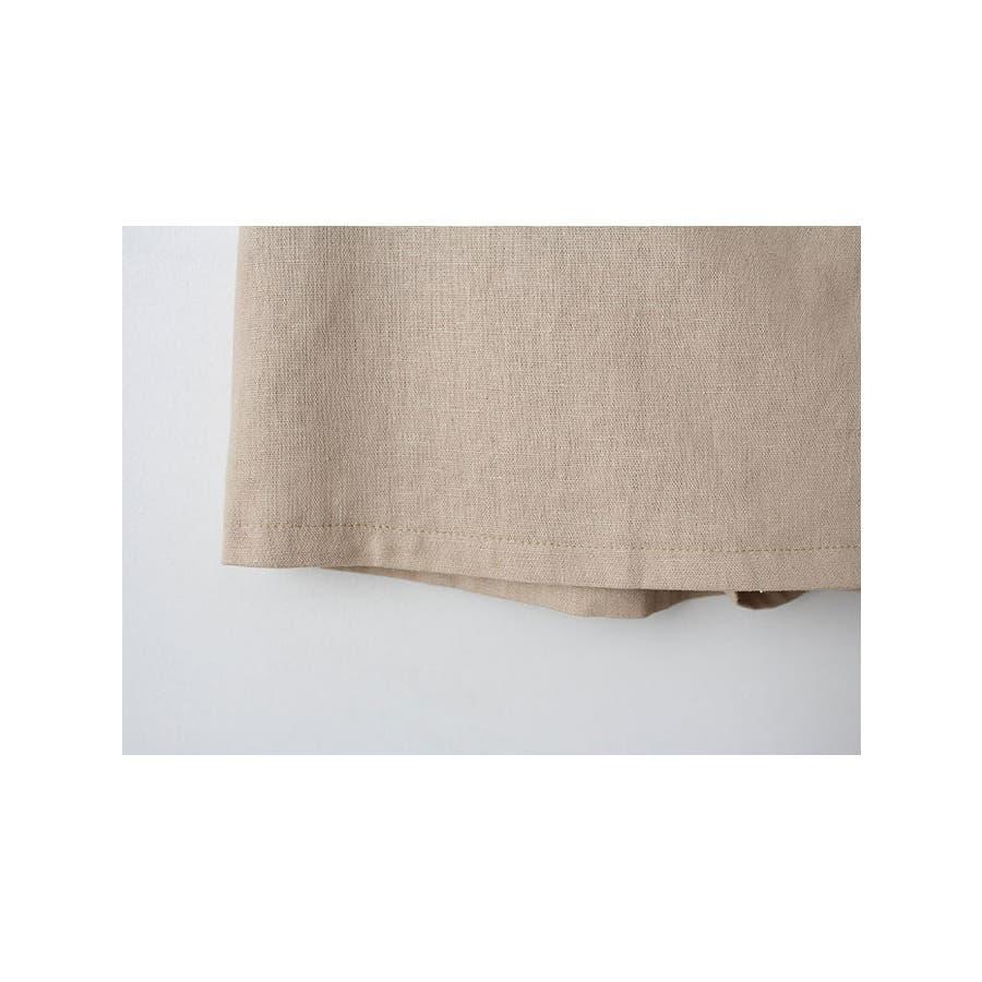 ショートパンツ レディース ラップスカート風 パンツ リネン パンツ 巻きスカート 短パン レディース 夏 半ズボン涼しいパンツリネン パンツ レディース ラップス 6