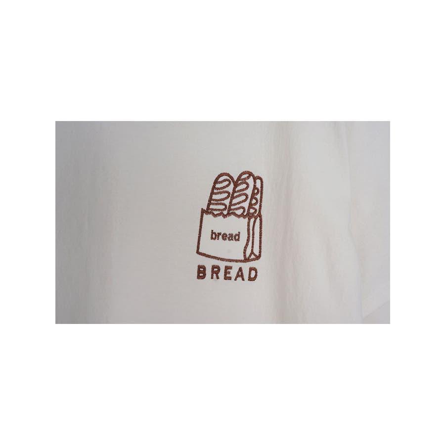 トップス レディース 半袖 刺繍 ロゴtシャツ レディース クルーネック 半袖 トップス レディース 刺しゅうカットソー半袖tシャツレディース tシャツ 韓国 半袖 6