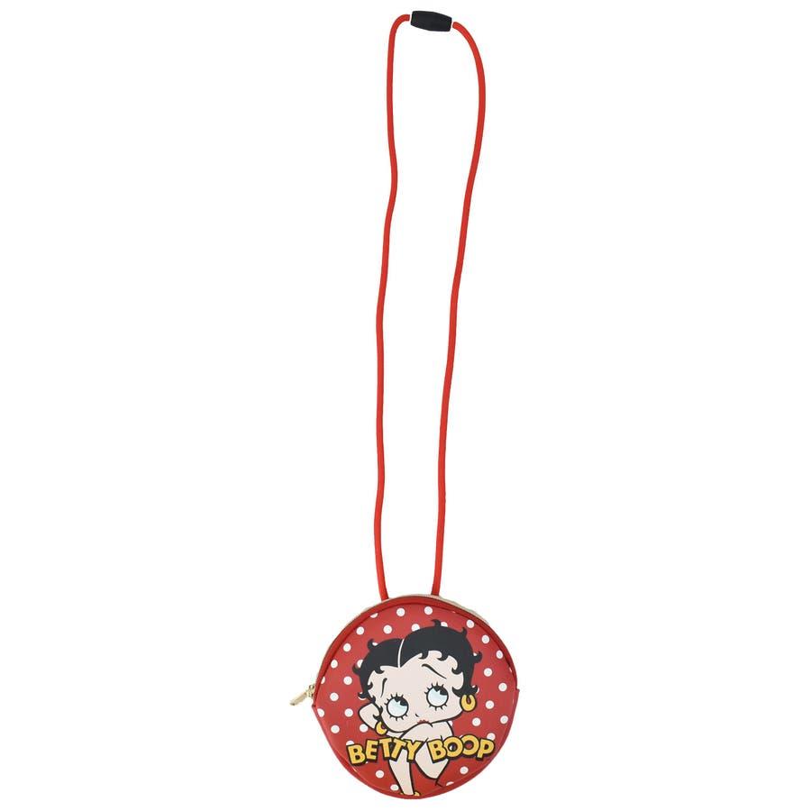 ベティちゃん Betty Boop ネックパース POP FACE 合成皮革 ベティ・ブープ ポーチ 子供用 キッズサークルバッグ幼稚園 ベティーちゃん BET-029 BET-030 11