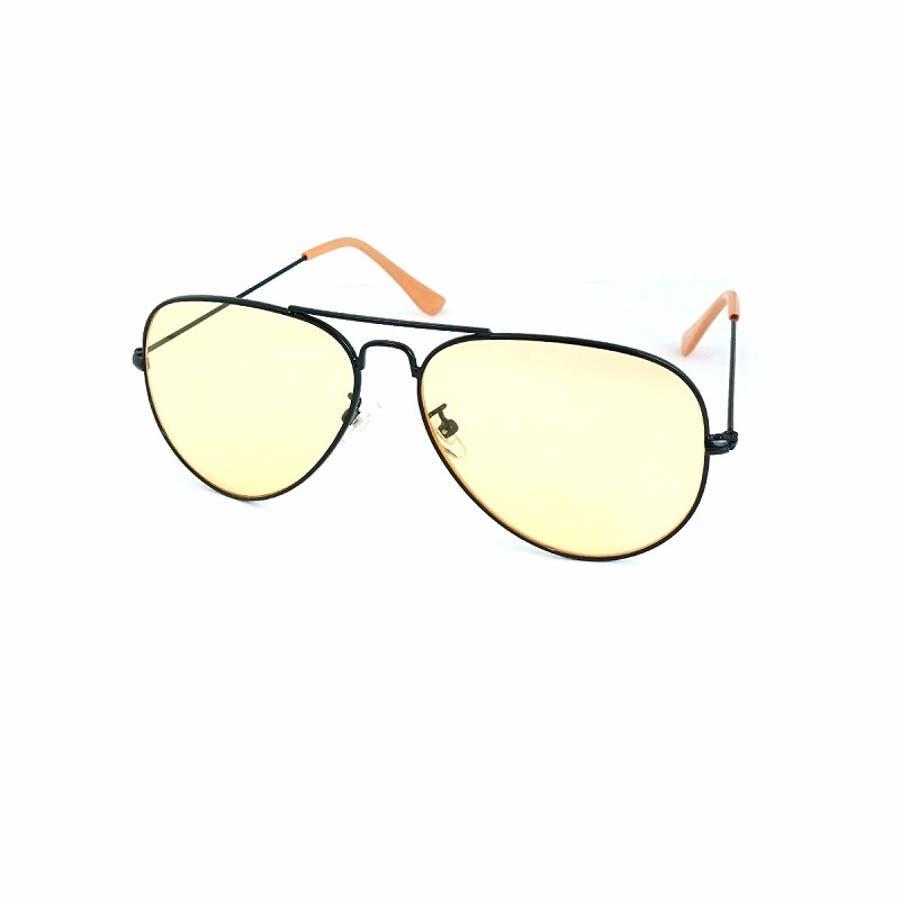 サングラス メンズ レディース ブランド G15 ブラウン イエロー クリア カラー レンズ おしゃれ UVカット7JEWELRYティアドロップ サングラス 83