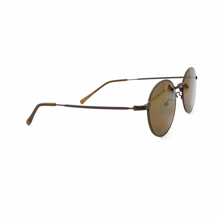 サングラス メンズ レディース ブランド スモーク G15 イエロー グレー ブラウン カラー レンズ おしゃれ UVカット7JEWELRY ラウンド サングラス 7