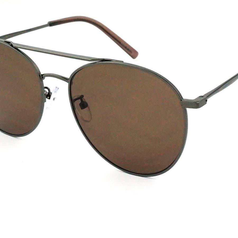サングラス メンズ レディース ブランド ブラウン ハーフ ライト スモーク ミラー レンズ ゴールド シルバー ブラック ピンクフレーム おしゃれ UVカット サングラスケース 7JEWELRY ティアドロップ サングラス 9
