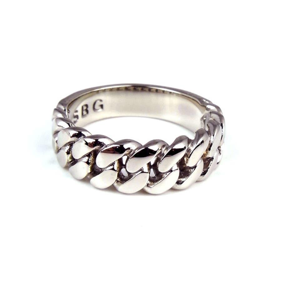 指輪 メンズ シルバー SBG 銀 喜平 リング キヘイ ファッション ジュエリー アクセサリー メンズ 人気 ブランド