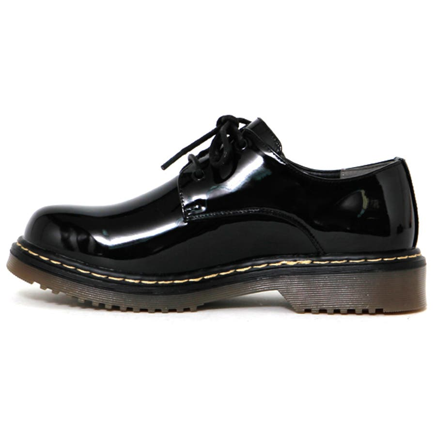 大人気ブリティッシュ3ホールレースアップシューズ マニッシュ ブーツ 英国風 タンクソール 靴 6