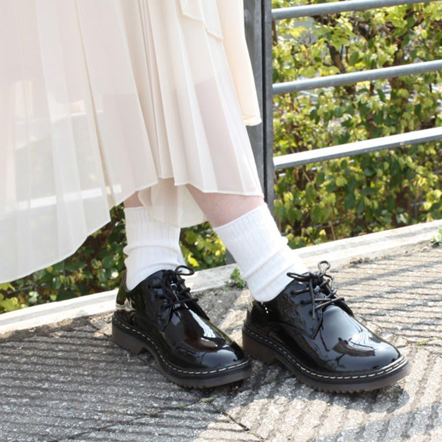 大人気ブリティッシュ3ホールレースアップシューズ マニッシュ ブーツ 英国風 タンクソール 靴 2
