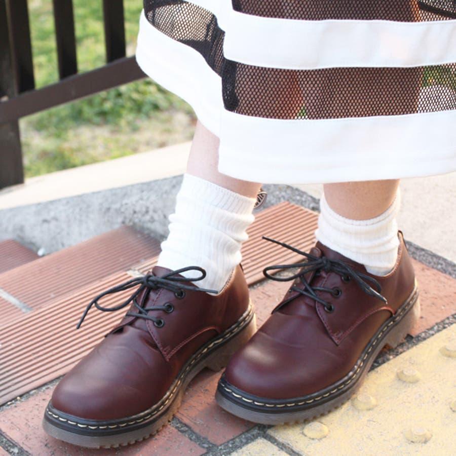 大人気ブリティッシュ3ホールレースアップシューズ マニッシュ ブーツ 英国風 タンクソール 靴 11