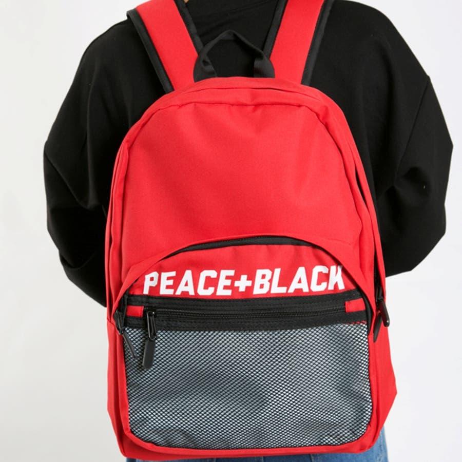 PEACE+BLACKリュック 11